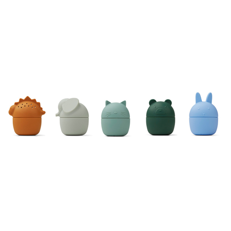 Picture of Liewood® Gaby bath toys 5-pack Blue Multi mix