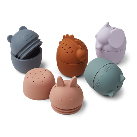 Picture of Liewood® Gaby bath toys 5-pack Multi mix