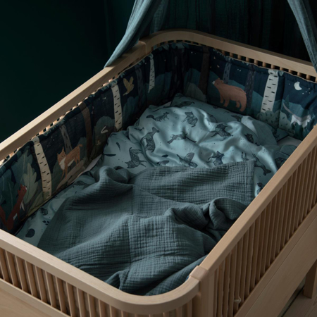Picture of Sebra® Baby bumper Nightfall Straw Beige