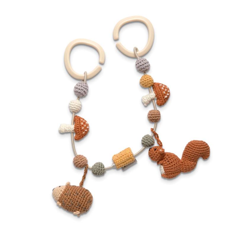 Picture of Sebra® Crochet pram chain Nightfall