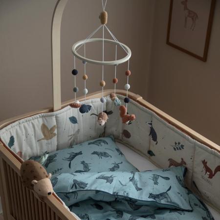 Picture of Sebra® Felted baby mobile Nightfall