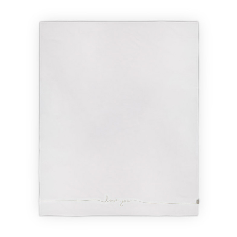 Picture of Jollein® Sheet Crib Love you Nougat 100x75