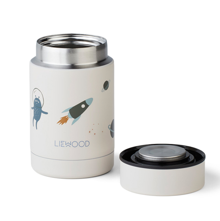 Picture of Liewood® Nadja food Jar Space Sandy Mix 250ml