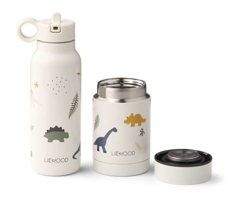 Picture of Liewood® Marlow set thermo Falk Bottle & Nadja Jar Marlow Dono Mix
