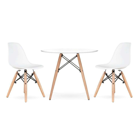 Picture of EM Furniture Kids Table & Chair 2-Set White