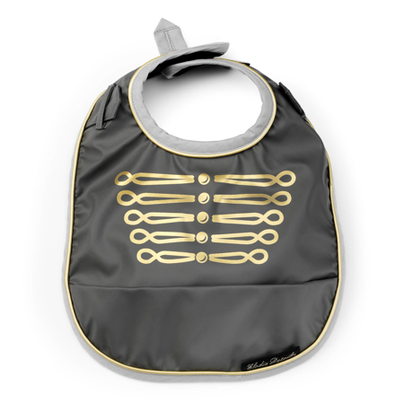 Picture of Elodie Details® Baby Bib Golden Grey