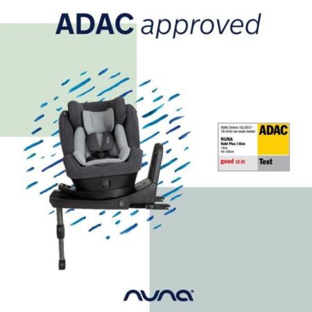 Picture of Nuna® Children's Car Seat Rebl Plus i-Size  0+/1 (0-18.5 kg) Frost