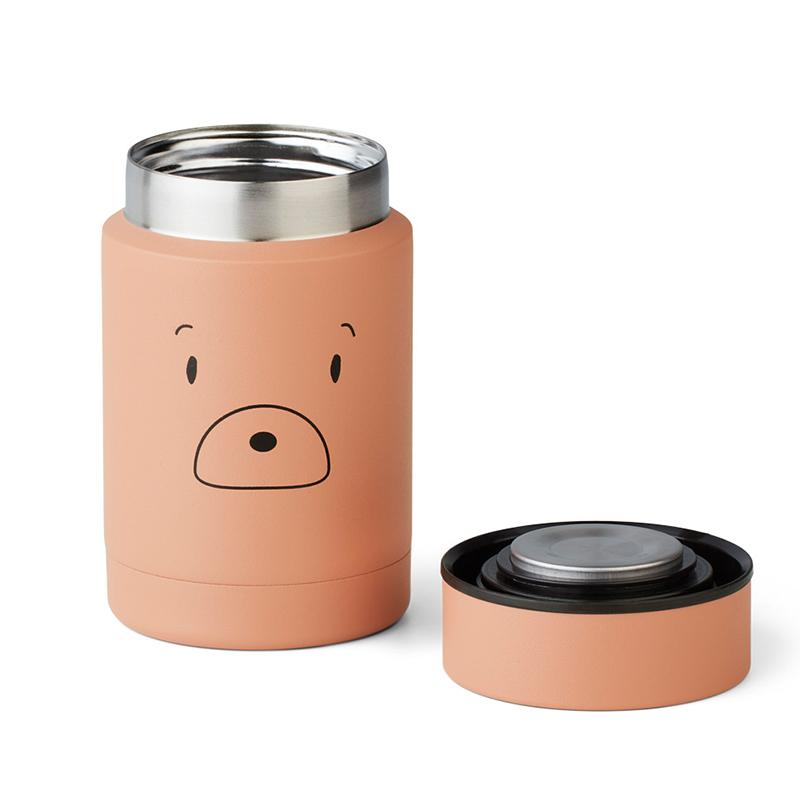 Picture of Liewood® Nadja food Jar Mr bear Tuscany Rose 250ml