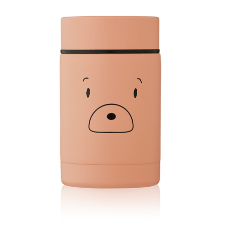 Liewood® Nadja food Jar Mr bear Tuscany Rose 250ml