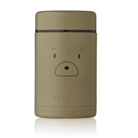 Liewood® Bernard Food Jar Mr bear Khaki  500ml