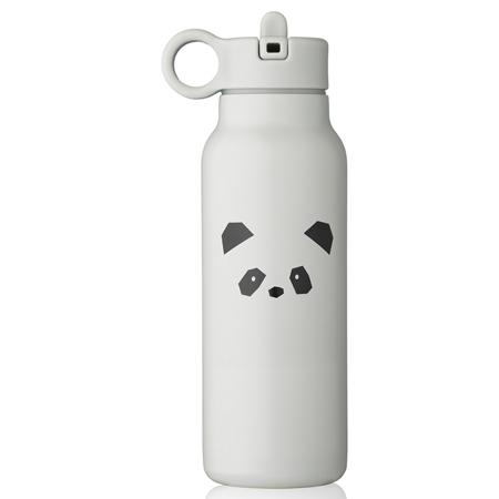 Picture of Liewood® Falk water bottle 350 ml Panda light grey