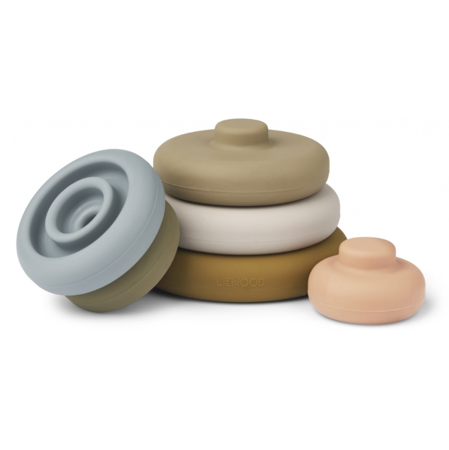 Picture of Liewood® Dag Stacking Tower Khaki Multi Mix