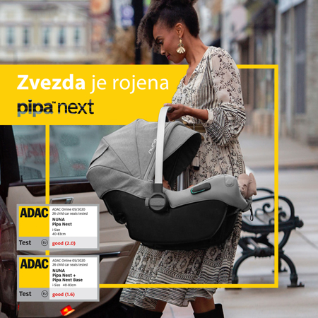 Picture of Nuna® Otroški avtosedež Pipa™ Next i-Size 0+ (0-13 kg) Caviar