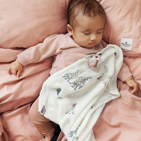 Picture of Elodie Details® Crib Bedding Set Faded Rose (100x130)