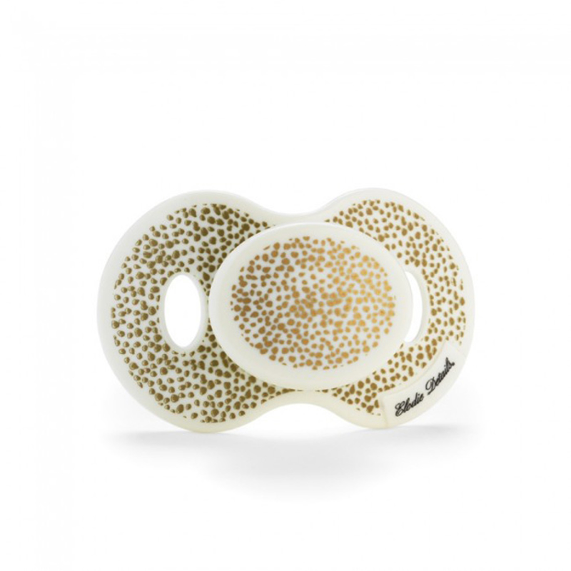 Picture of Elodie Details® Newborn Pacifier Gold Shimmer