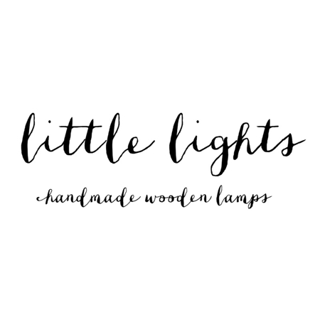 Picture of Little Lights® Handmade wooden lamp Rocket Navy