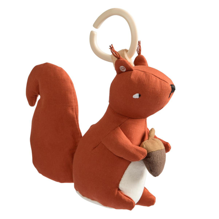 Picture of Sebra® Musical pull toy Star The Squirrel