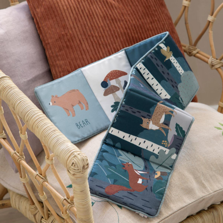 Picture of Sebra® Fabric book Nightfall Midnight Green