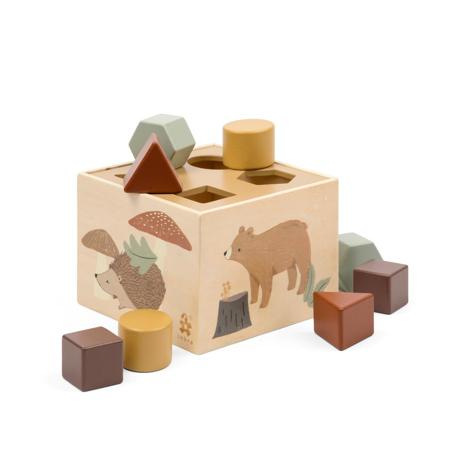Picture of Sebra® Wooden shape sorter Nightfall