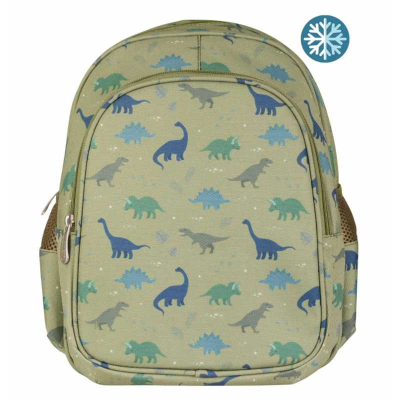 Picture of A Little Lovely Company® Insulated backpack Dinosaurs
