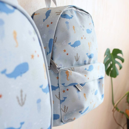 Picture of A Little Lovely Company® Little Backpack Ocean