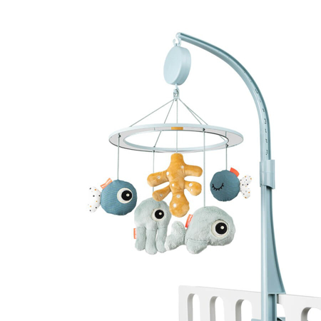 Done by Deer® Musical mirror mobile Sea friends Blue
