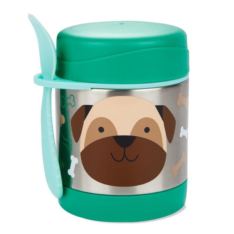 Picture of Skip Hop® Insulated Little Kid Food Jar Pug