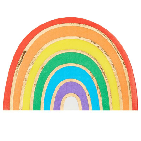 Picture of Ginger Ray® Napkins Rainbow Gold