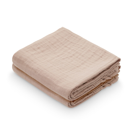 Picture of CamCam® Musling Cloth Dusty Rose 2pack 70x70