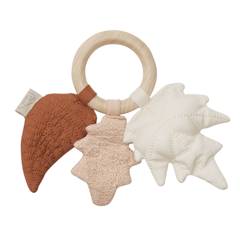 Picture of CamCam® Leaves Rattle Mix Caramel