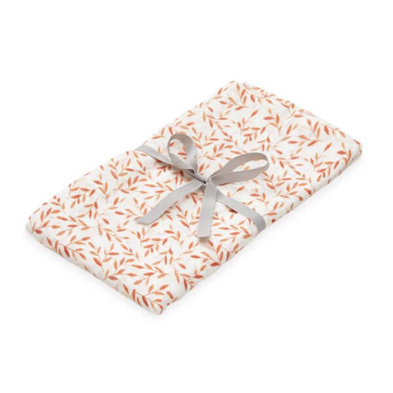 Picture of CamCam® Light Muslin Swaddle Caramel Leaves 120x120