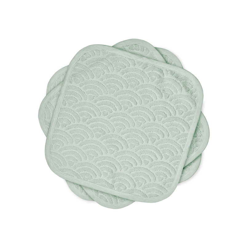 Picture of CamCam® Washingcloth Dusty Green 30x30