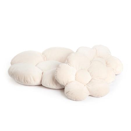 Picture of Kidkii® Pillow set Flowet Velvet Beige 3 pcs.