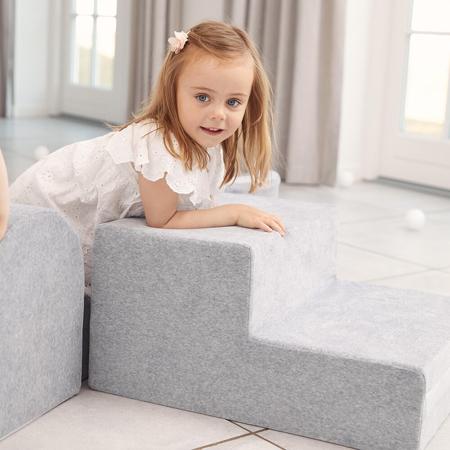Picture of Kidkii® Soft Play Set Lite Velvet Grey