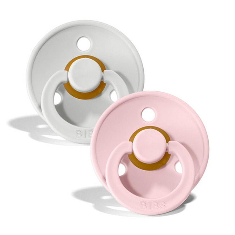 Picture of Bibs® Natural Rubber Baby Pacifier Haze & Blossom 2 (6-18m)