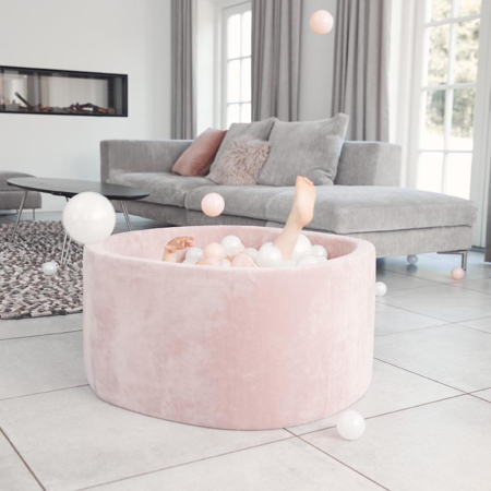 Picture of Kidkii® Ball pit Round Rose 90x40 Pink