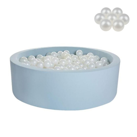 Picture of Kidkii® Ball pit Round Blue 90x30 Pearl