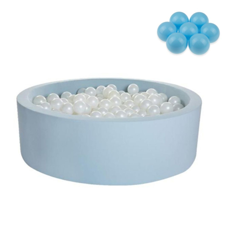 Picture of Kidkii® Ball pit Round Blue 90x30 Blue