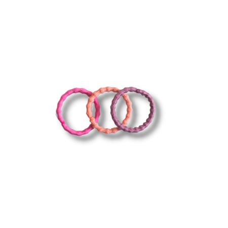 Picture of Elastic Hand Bands Pink Mix Ø1.5cm 100 pcs.