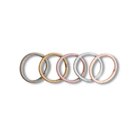 Picture of Elastic Hand Bands Pastel Mix Ø3cm 100 pcs.