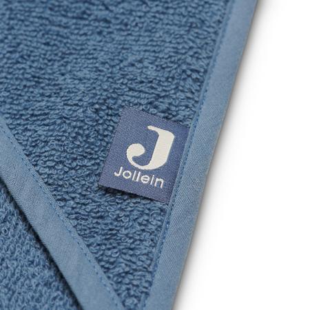 Picture of Jollein® Terrycloth Bathcape Jeans Blue 75x75cm