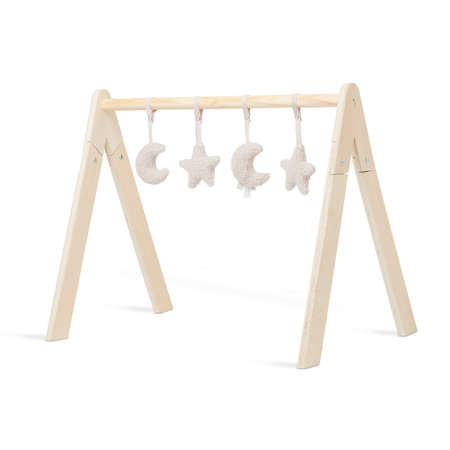 Picture of Jollein® Baby Gym Toys Moon Nougat 4 Pieces