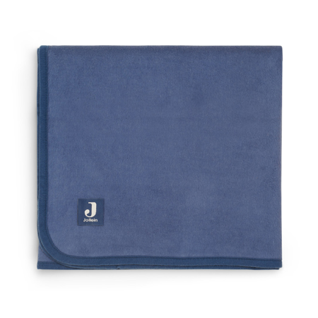 Picture of Jollein® Cot Blanket 150x100 Jeans Blue