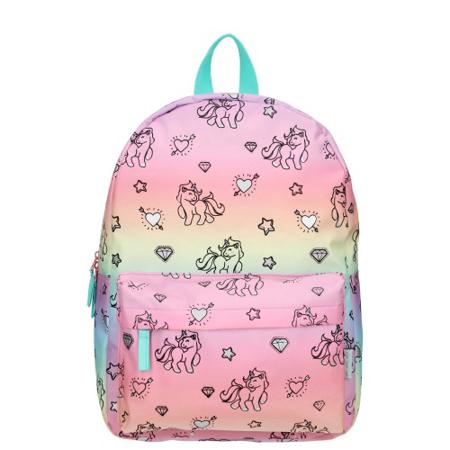 Kidzroom® Backpack Milky Kiss Rainbows and Unicorns (M)