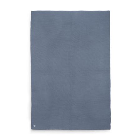 Jollein® Crib Blanket Basic Knit Jeans Blue 150x100