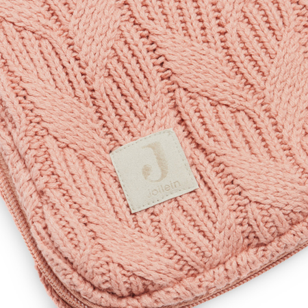 Picture of Jollein® Footmuff for Car Seat & Stroller Basic Knit Rosewood