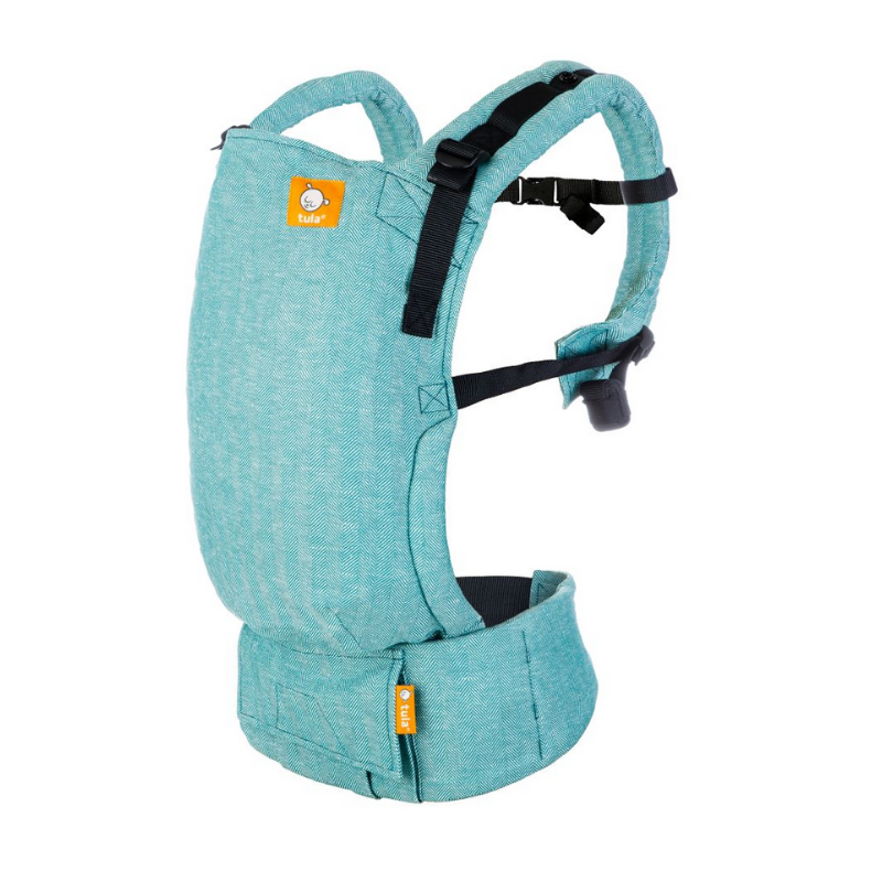 Picture of Tula® Free To Grow Linen Baby Carrier Reef
