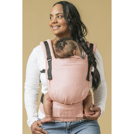 Tula® Free To Grow Linen Baby Carrier Mango
