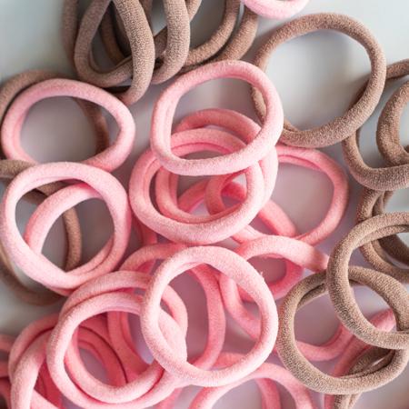 Picture of Elastic Hand Bands Ø3,5cm Pink Mix 50 pcs.