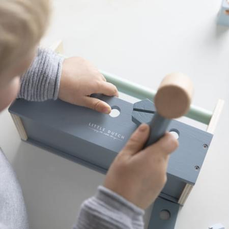 Picture of Little Dutch® Children's toolbox 20 pcs